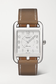 Cape Cod Automatic 29mm large stainless steel and leather watch