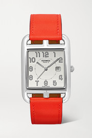 Cape Cod 29mm large stainless steel and leather watch