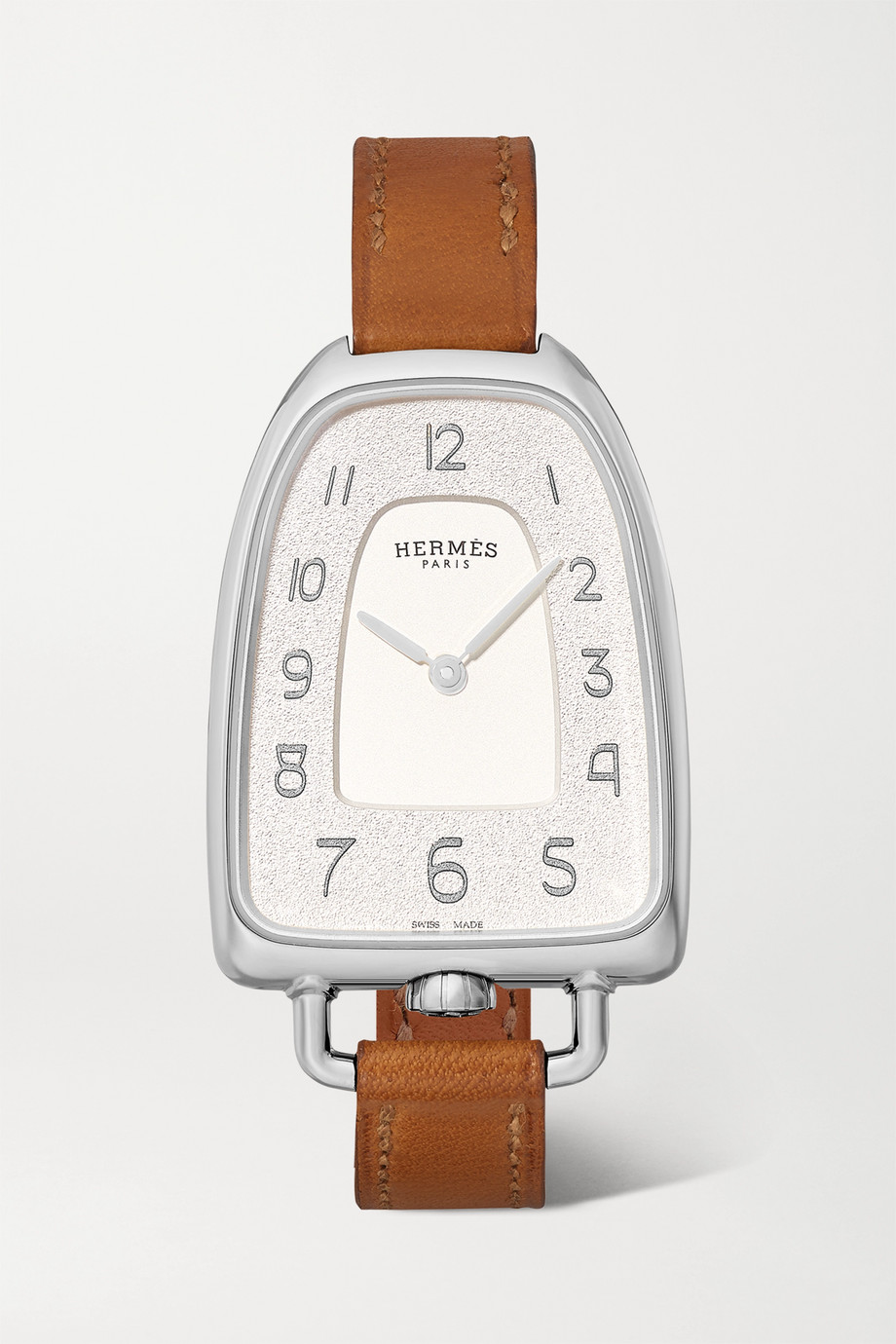 Hermès Timepieces Galop d'Hermès 26mm medium stainless steel and leather watch