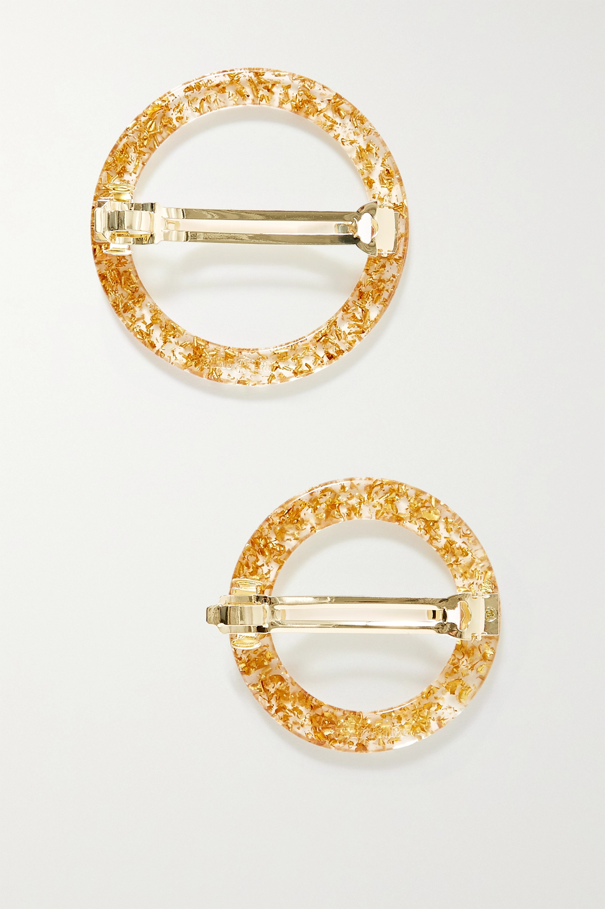 Cult Gaia Ria set of two acrylic hair clips
