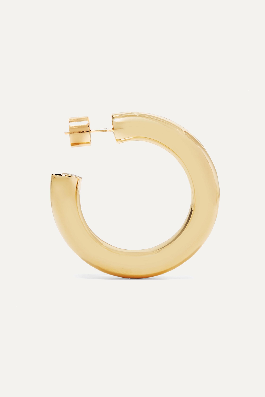 Jennifer Fisher Mini Kevin gold-plated hoop earrings