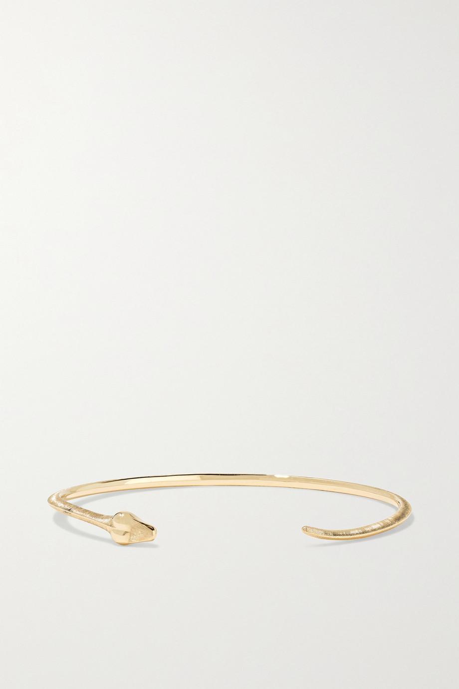 OLE LYNGGAARD COPENHAGEN Snake 18-karat gold cuff