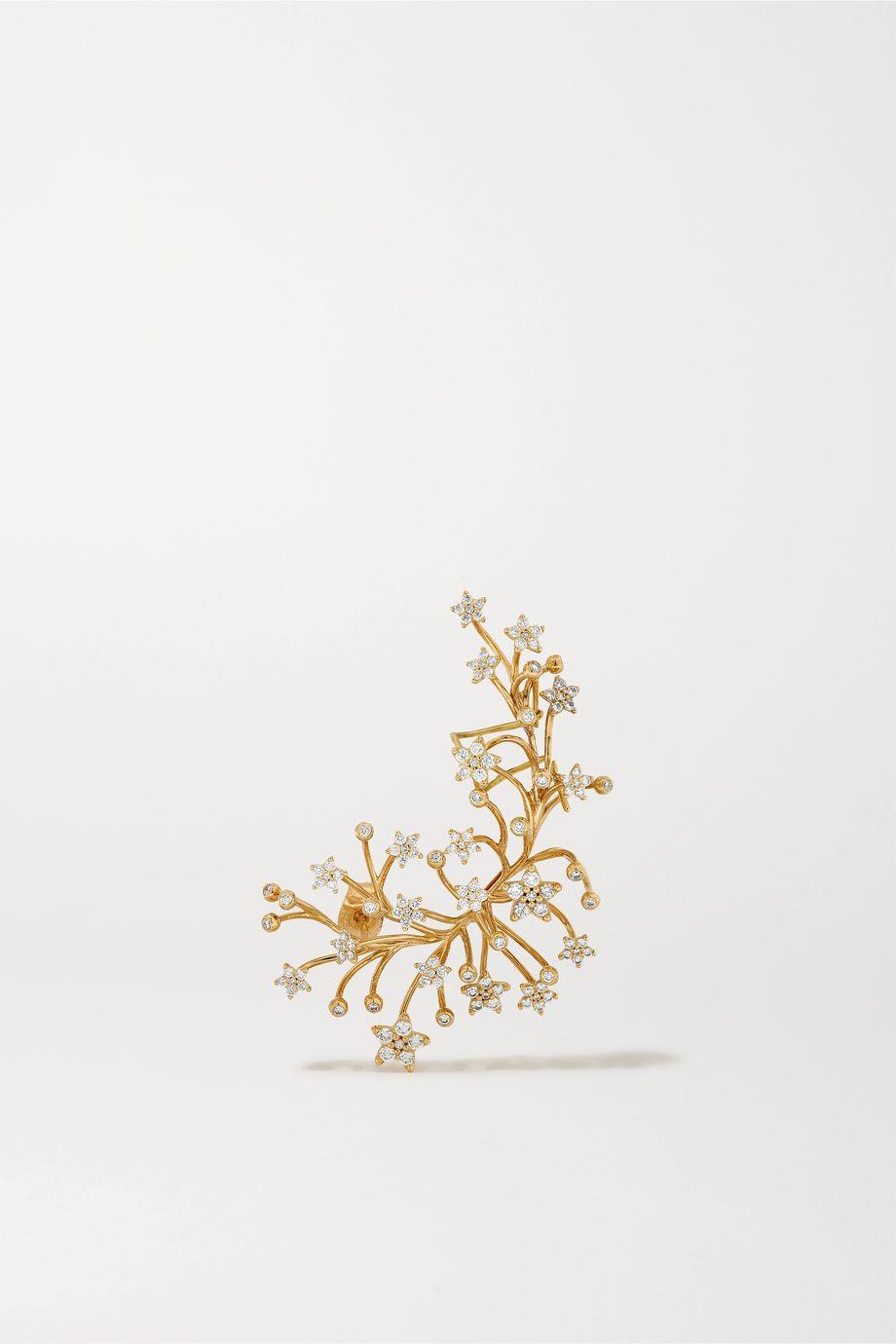 OLE LYNGGAARD COPENHAGEN Shooting Star 18-karat gold diamond ear cuff