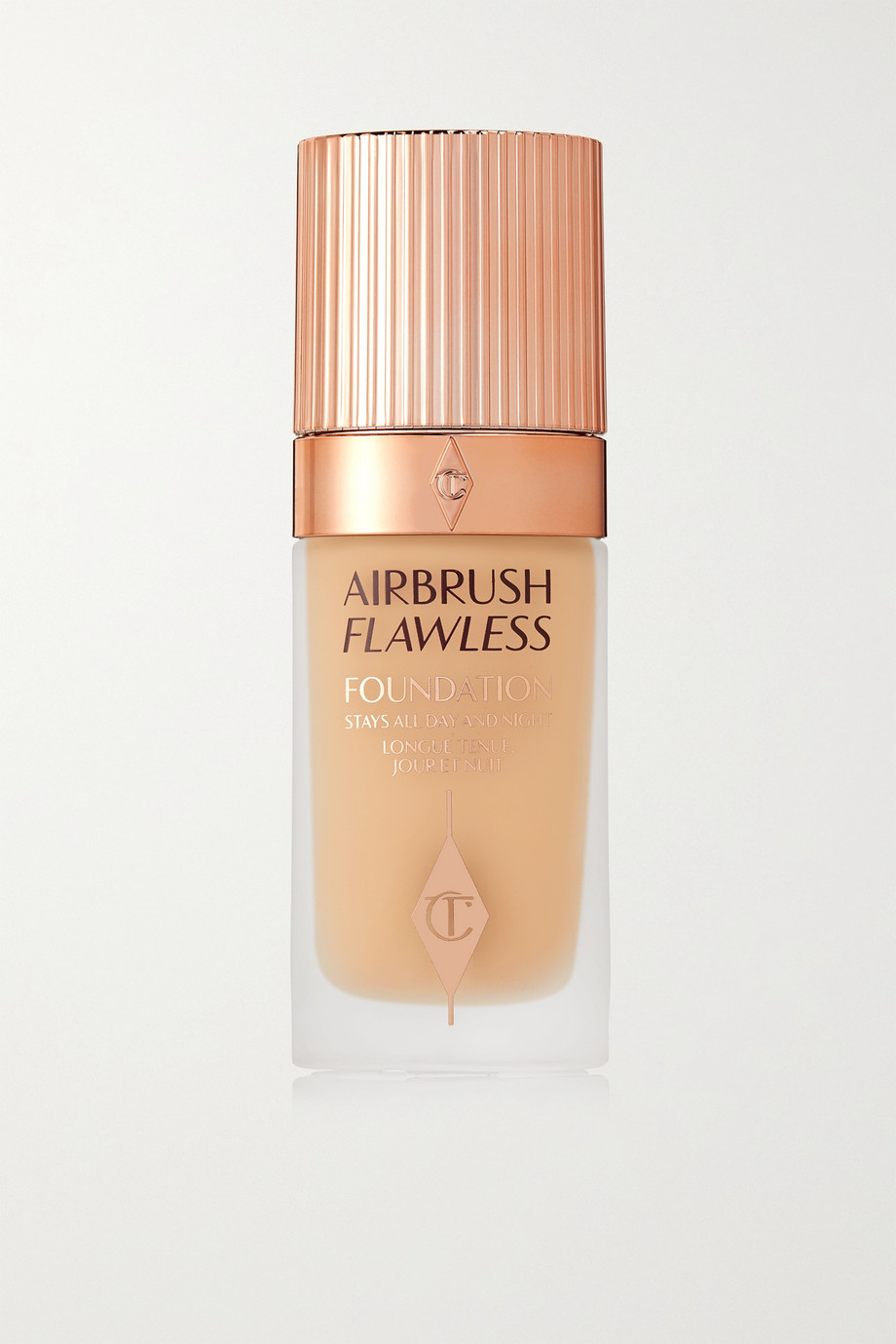 Charlotte Tilbury Airbrush Flawless Foundation – 4 Warm, 30 ml – Foundation