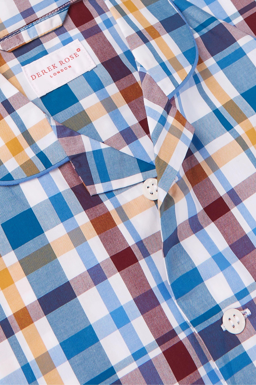 Derek Rose Kids 3–12 Jahre – Karierter Pyjama aus Baumwolle