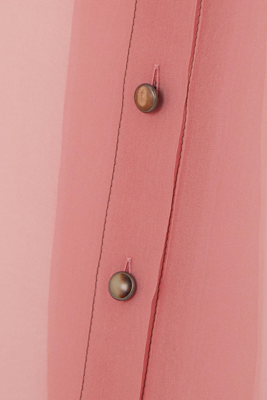 Brunello Cucinelli Silk-chiffon shirt