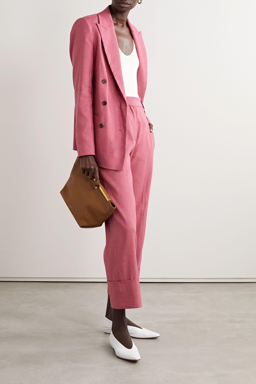 Brunello Cucinelli Linen-blend blazer