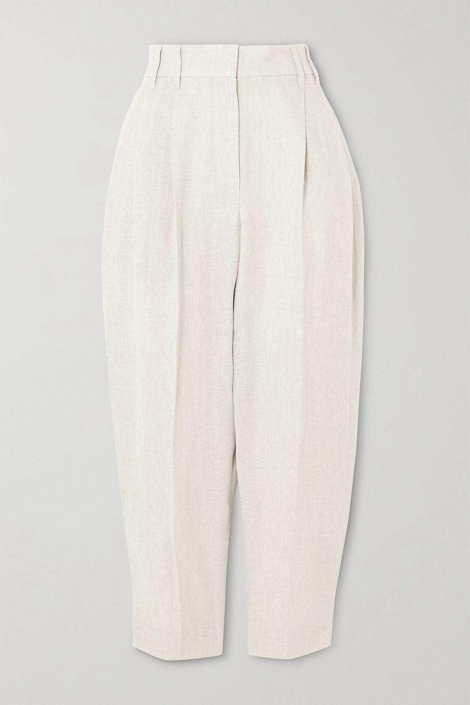 Brunello Cucinelli Linen tapered pants