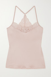 Hanro Zula lace-trimmed stretch-jersey camisole