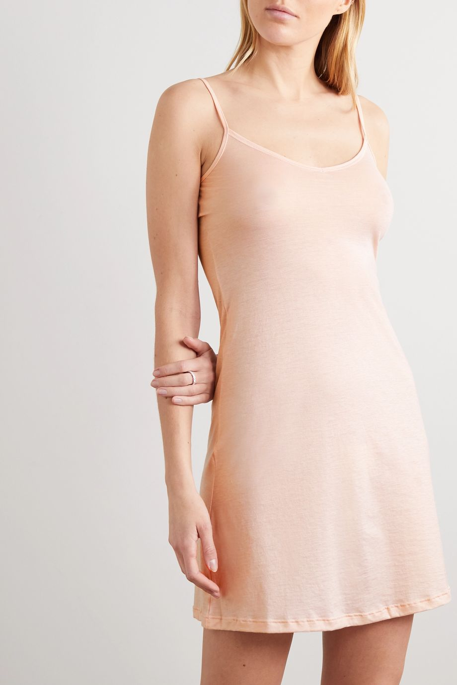 Hanro Ultralight mercerized cotton chemise