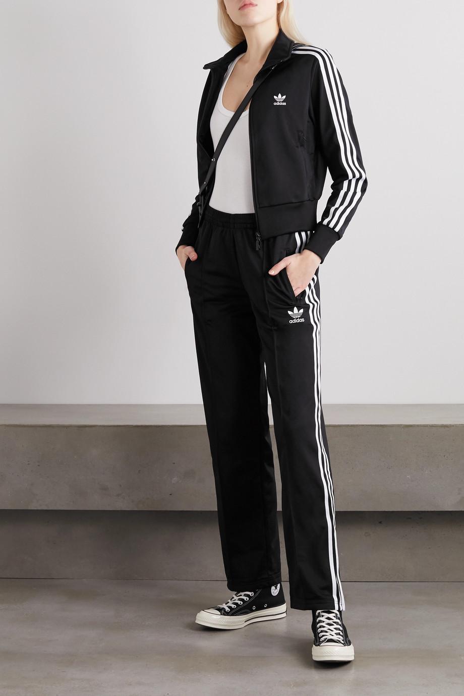 adidas Originals Firebird Jogginghose aus glänzendem Jersey mit Streifen