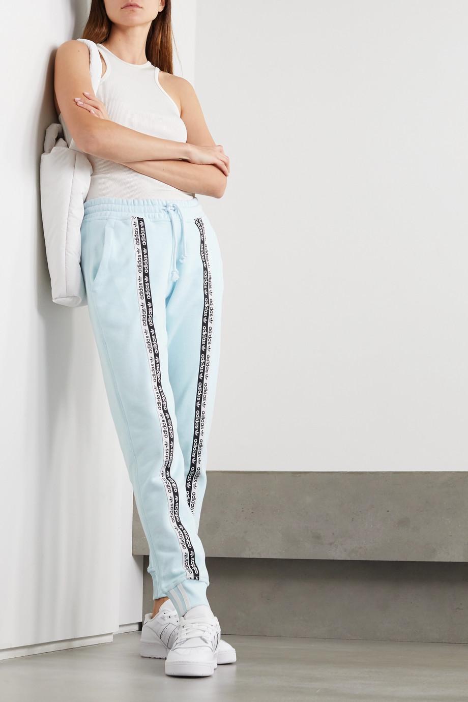 adidas Originals R.Y.V. Jogginghose aus Baumwoll-Jersey mit Streifen