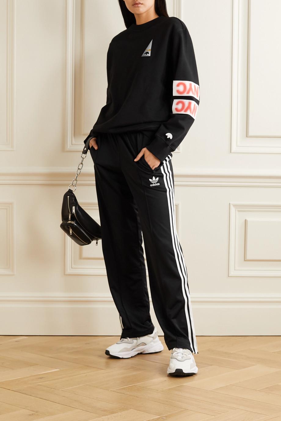 adidas Originals Firebird striped tech-jersey track pants