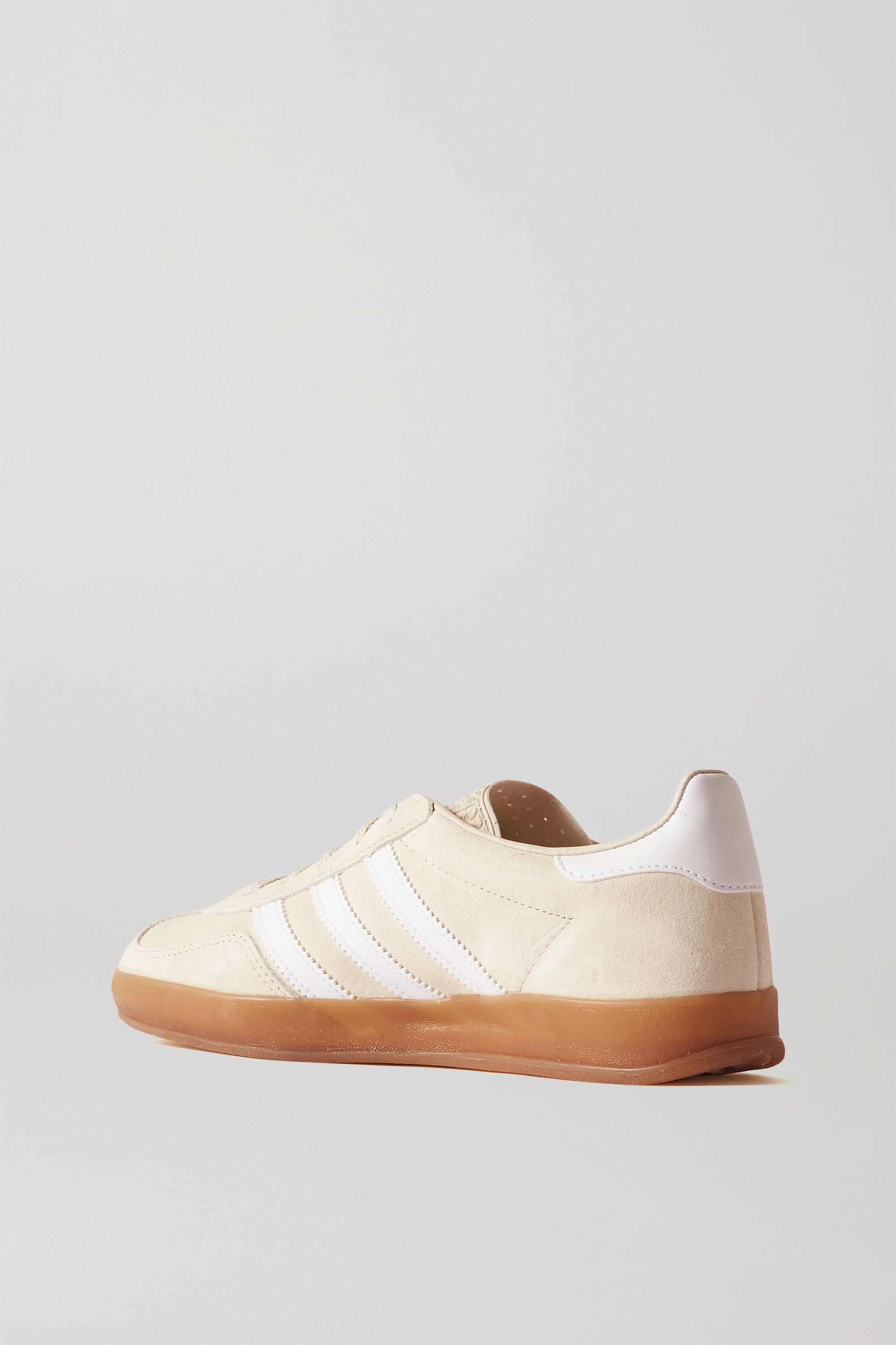 Beige Gazelle Suede And Leather Sneakers | Adidas Originals