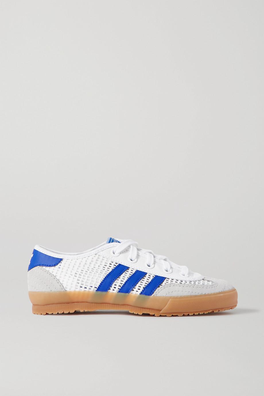 adidas Originals Tischtennis Sneakers aus Mesh, Veloursleder und Leder