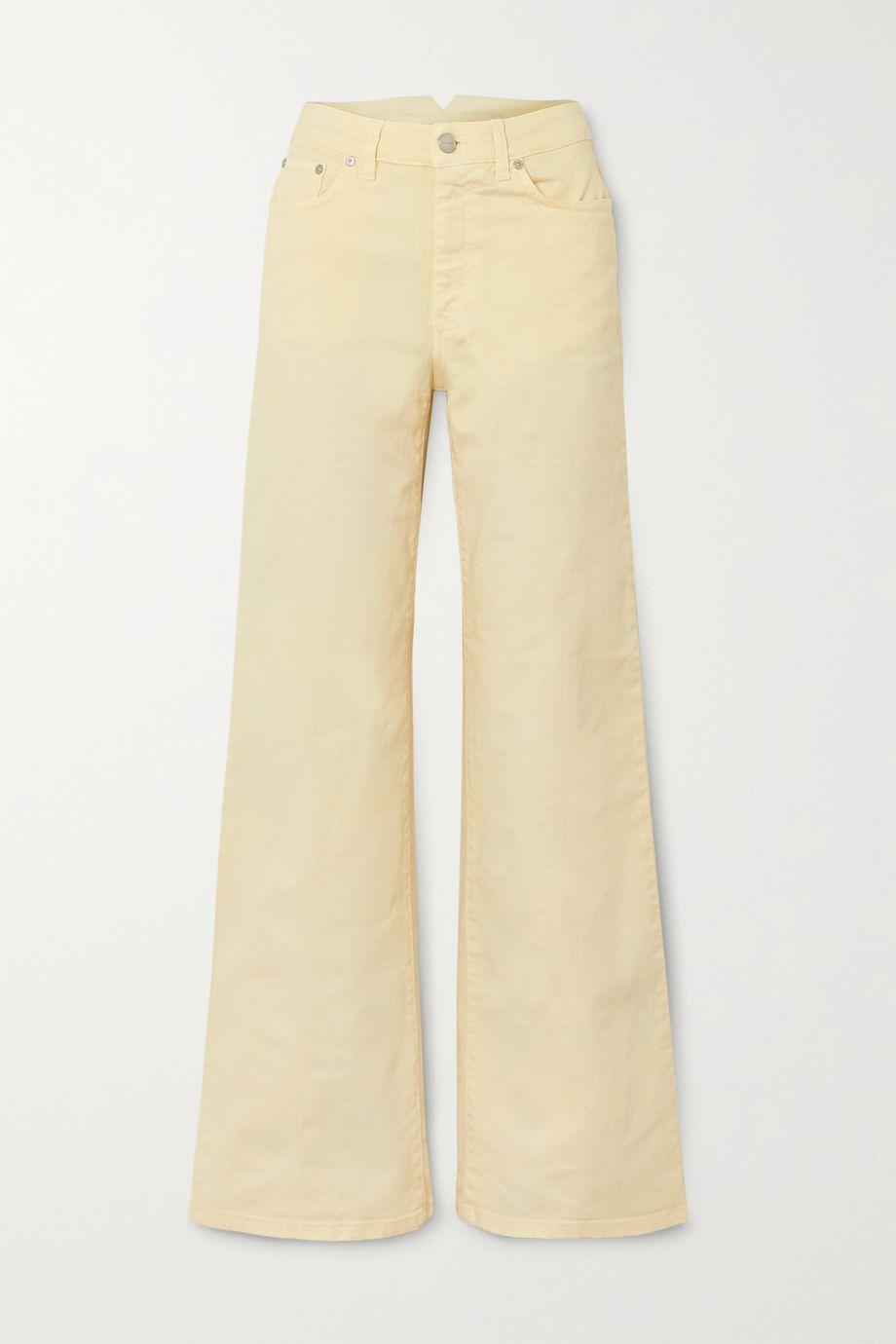 Holzweiler Oda high-rise wide-leg jeans