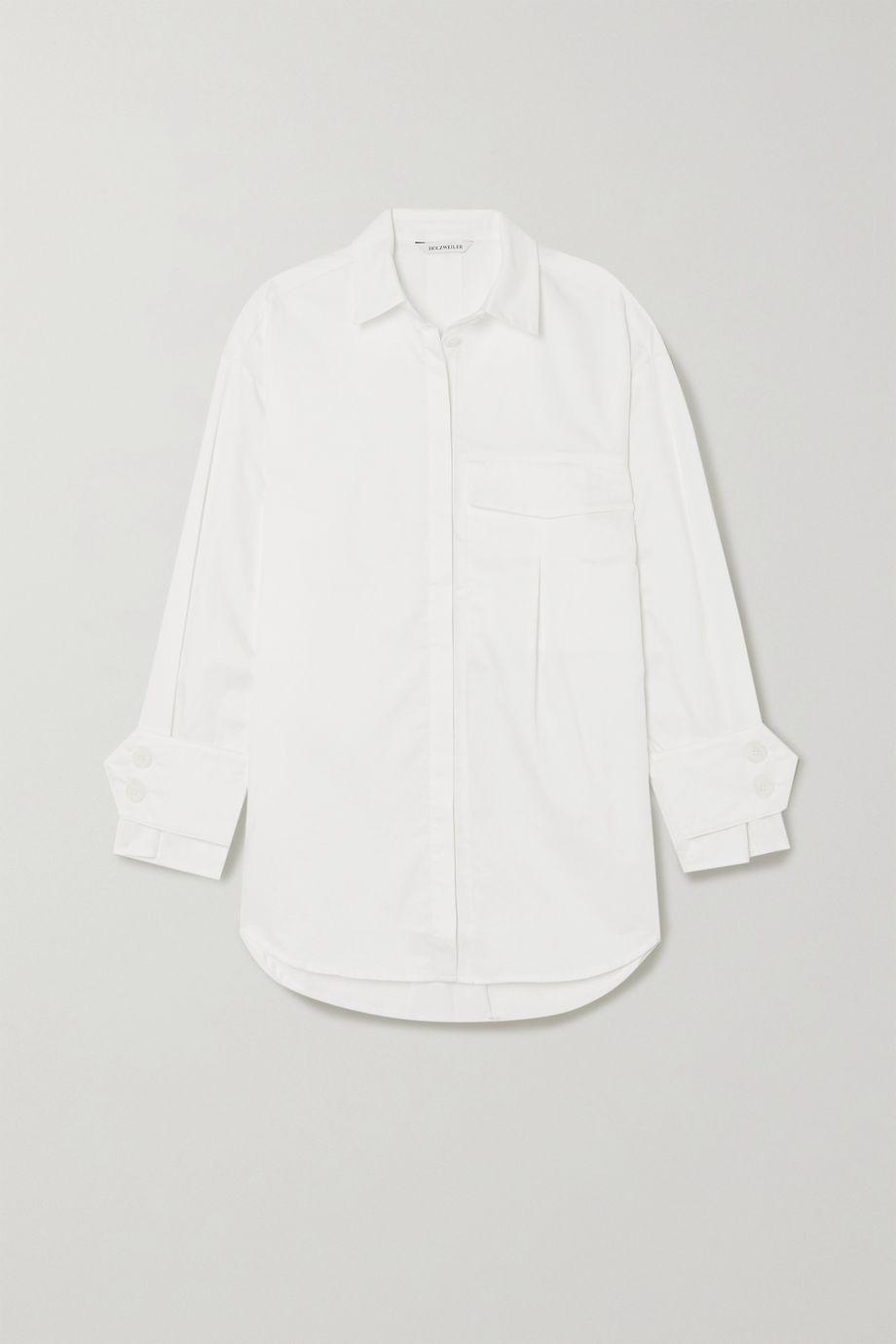 Holzweiler Woopsidaisy oversized cotton shirt