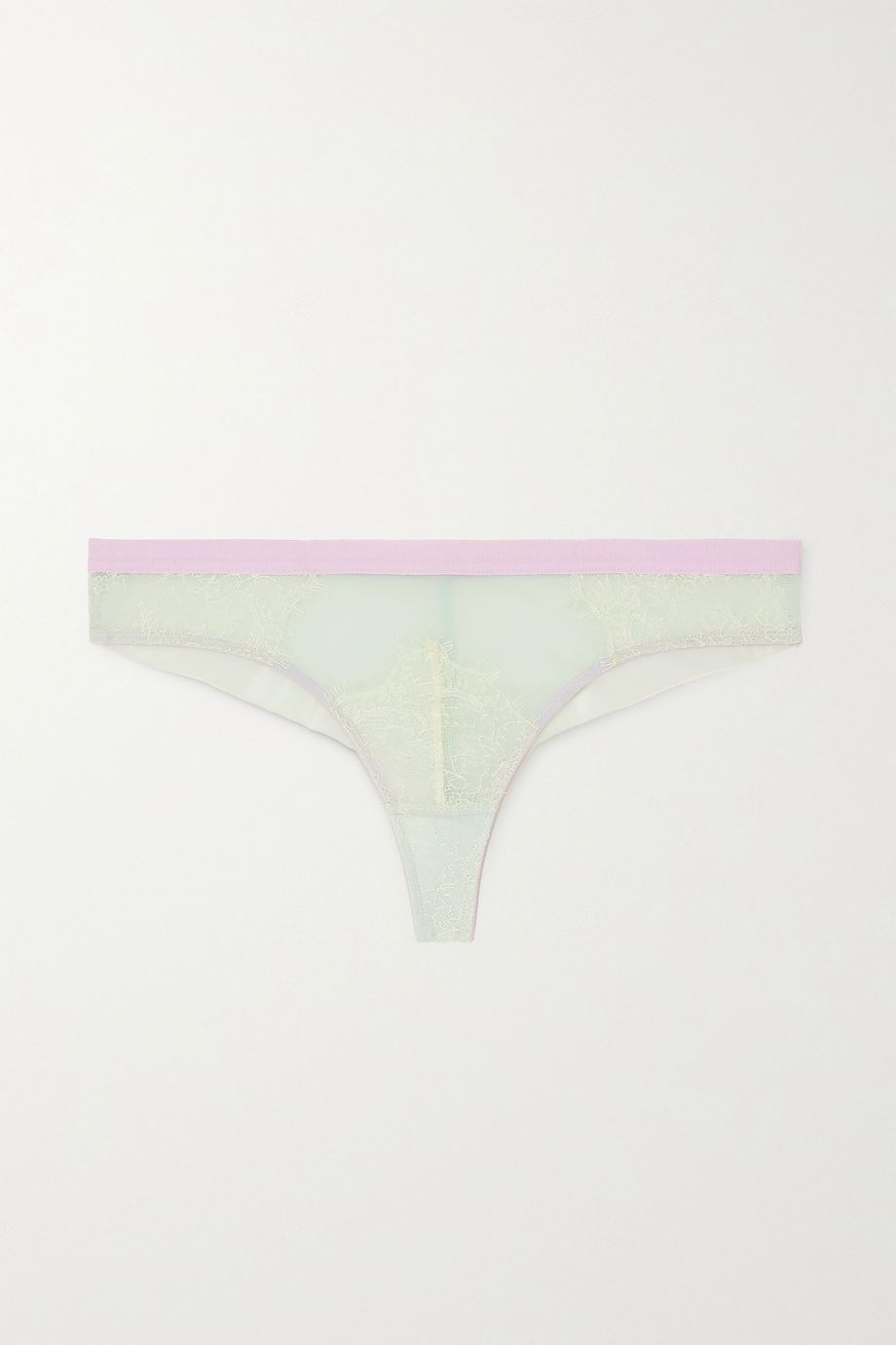 Dora Larsen Marlowe stretch-lace and tulle briefs