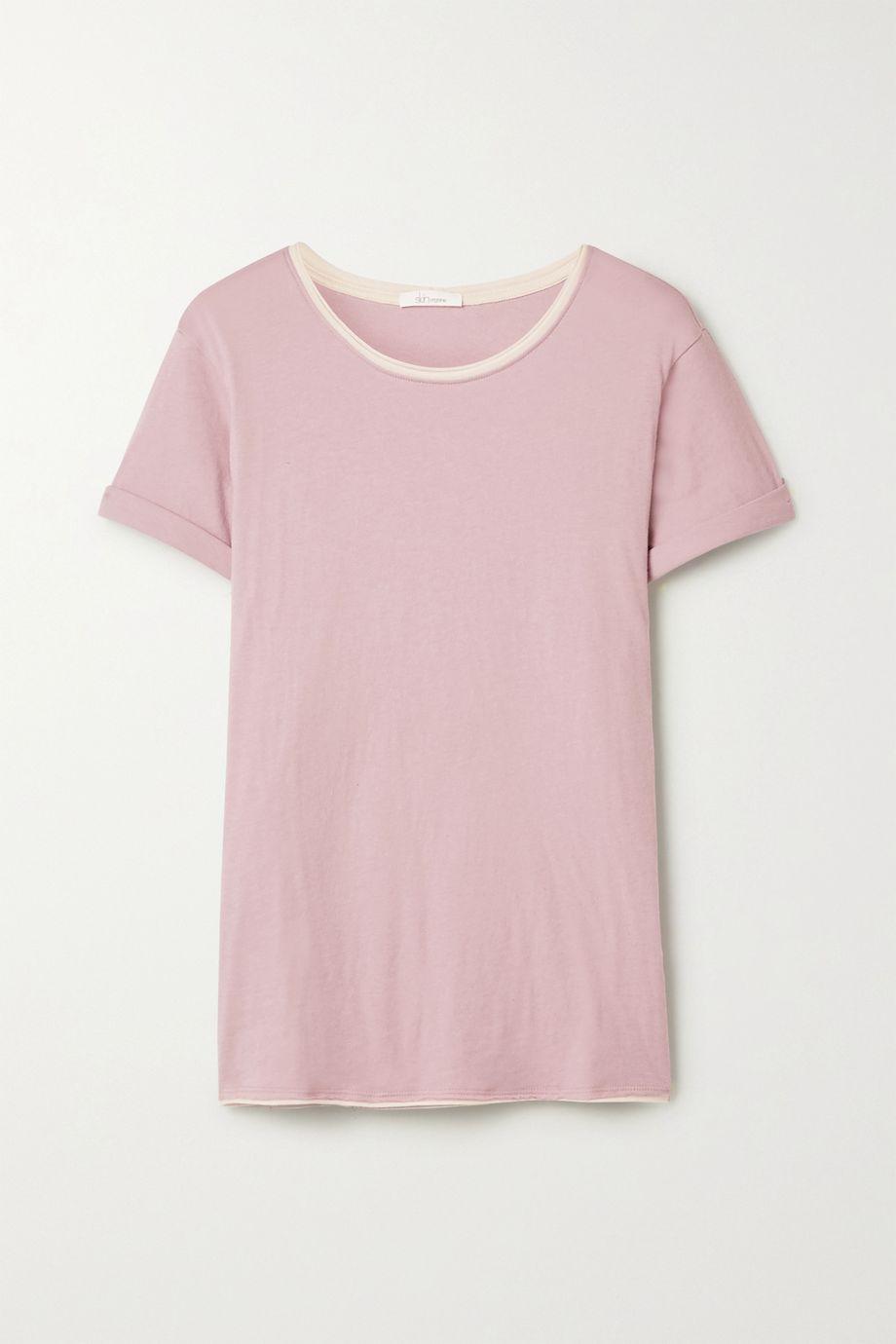 Skin T-shirt en jersey de coton Pima biologique Georgie