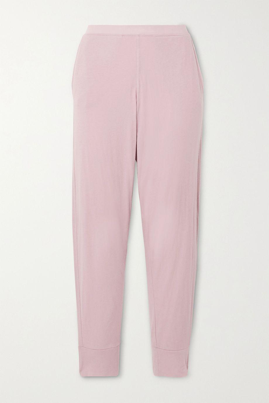 Skin Grayson organic Pima cotton-jersey track pants