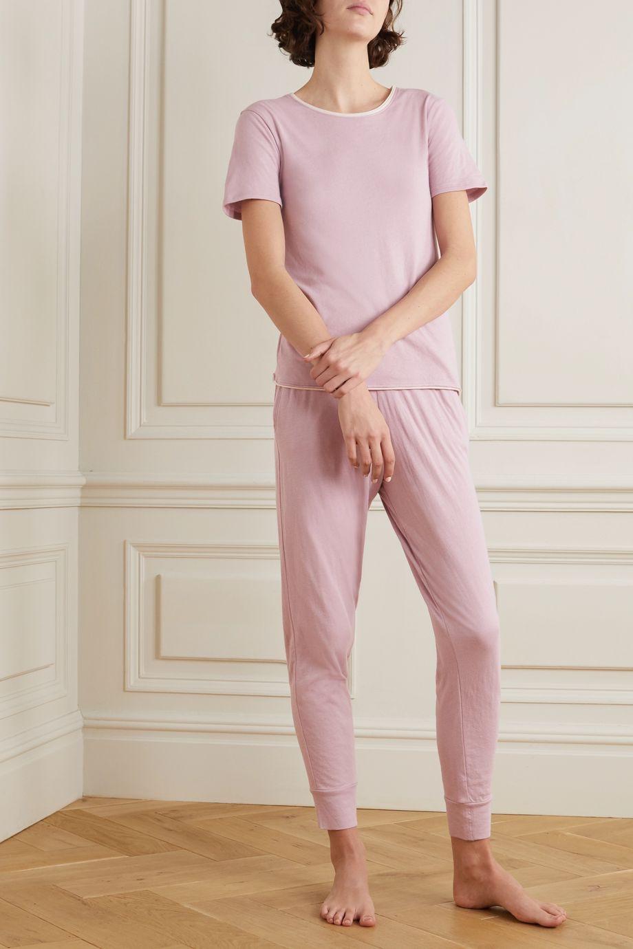 Skin Pantalon de survêtement en jersey de coton Pima biologique Grayson
