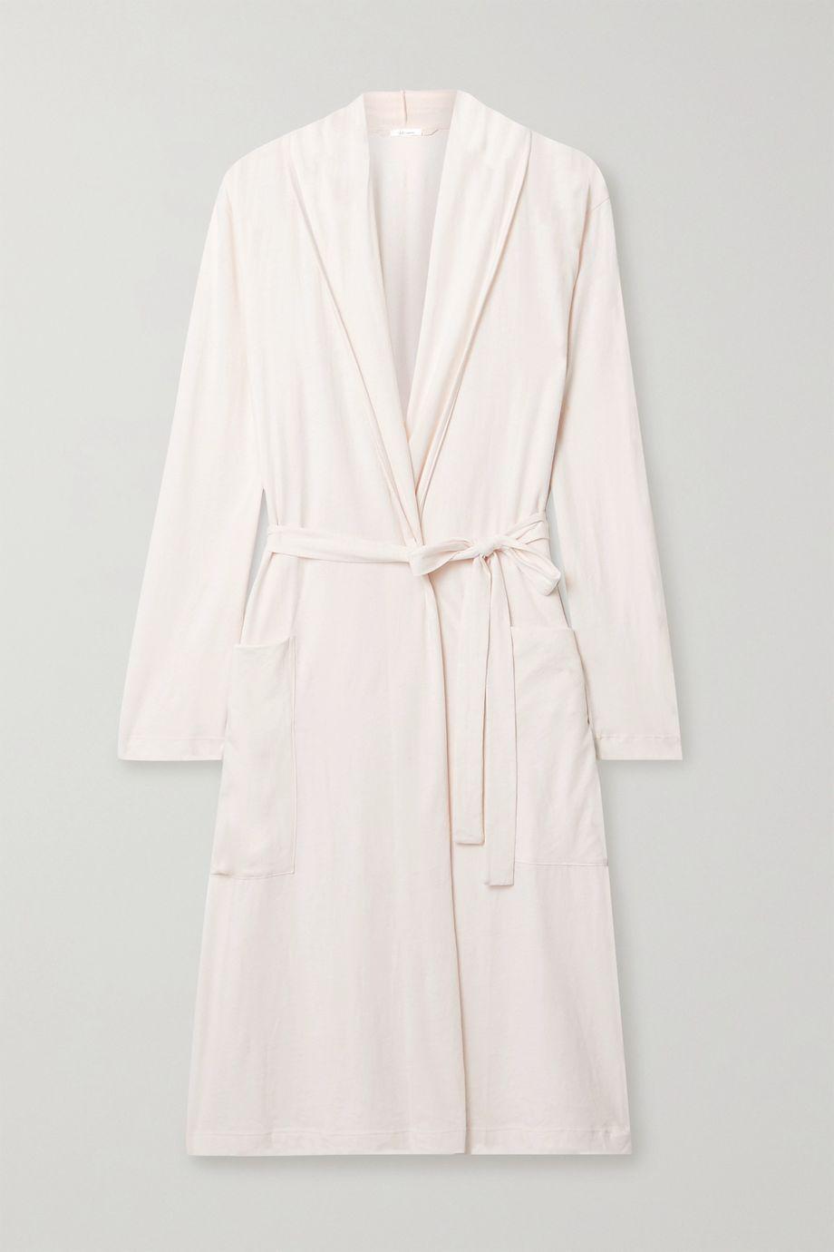 Skin Kathie organic Pima cotton-jersey robe