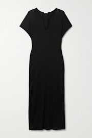 Skin Romee ribbed Pima cotton-jersey nightdress