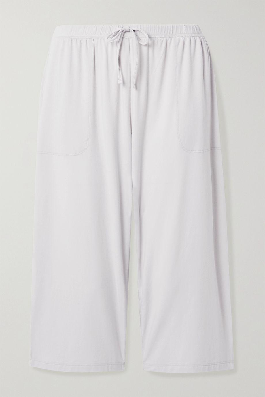 Skin Marlee cropped stretch-jersey pajama pants