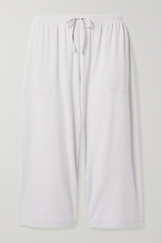 Skin Marlee cropped stretch-jersey pajama pants