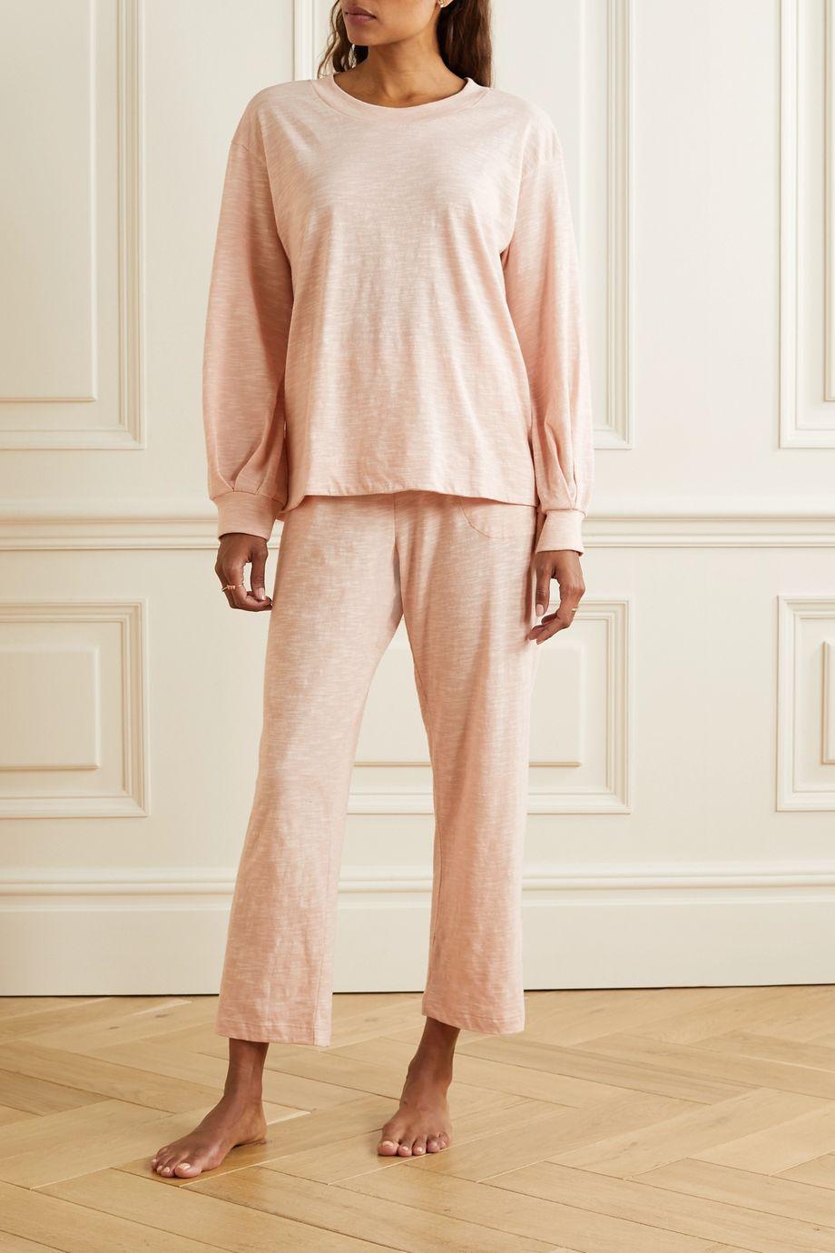 Skin Florence Oberteil aus Flammgarn-Jersey aus Baumwolle