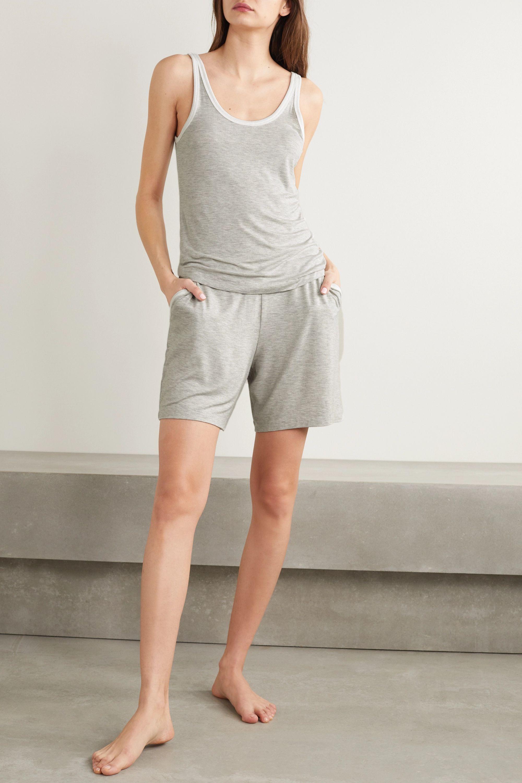Skin Lisette 弹力平纹布短裤