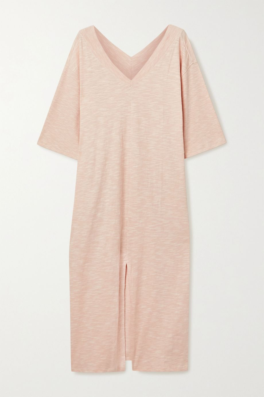 Skin Francoise slub cotton-jersey nightdress