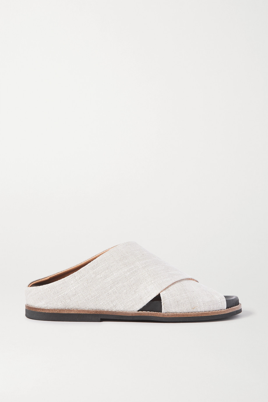 GANNI Mélange canvas sandals