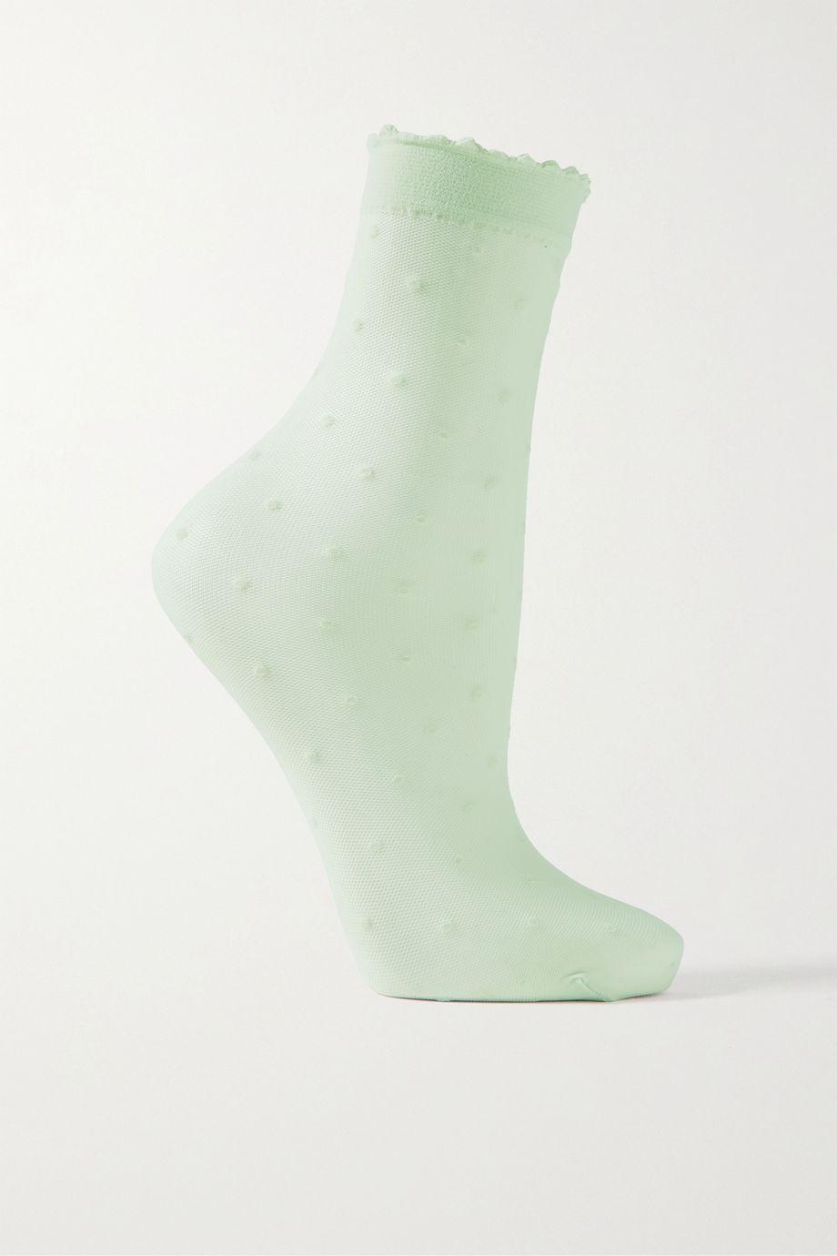 FALKE Point d'esprit stretch-tulle socks