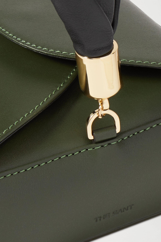 The Sant Furoshiki mini leather tote