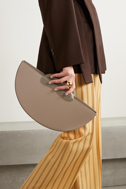 Naturae Sacra Ottava 皮革树脂手提包