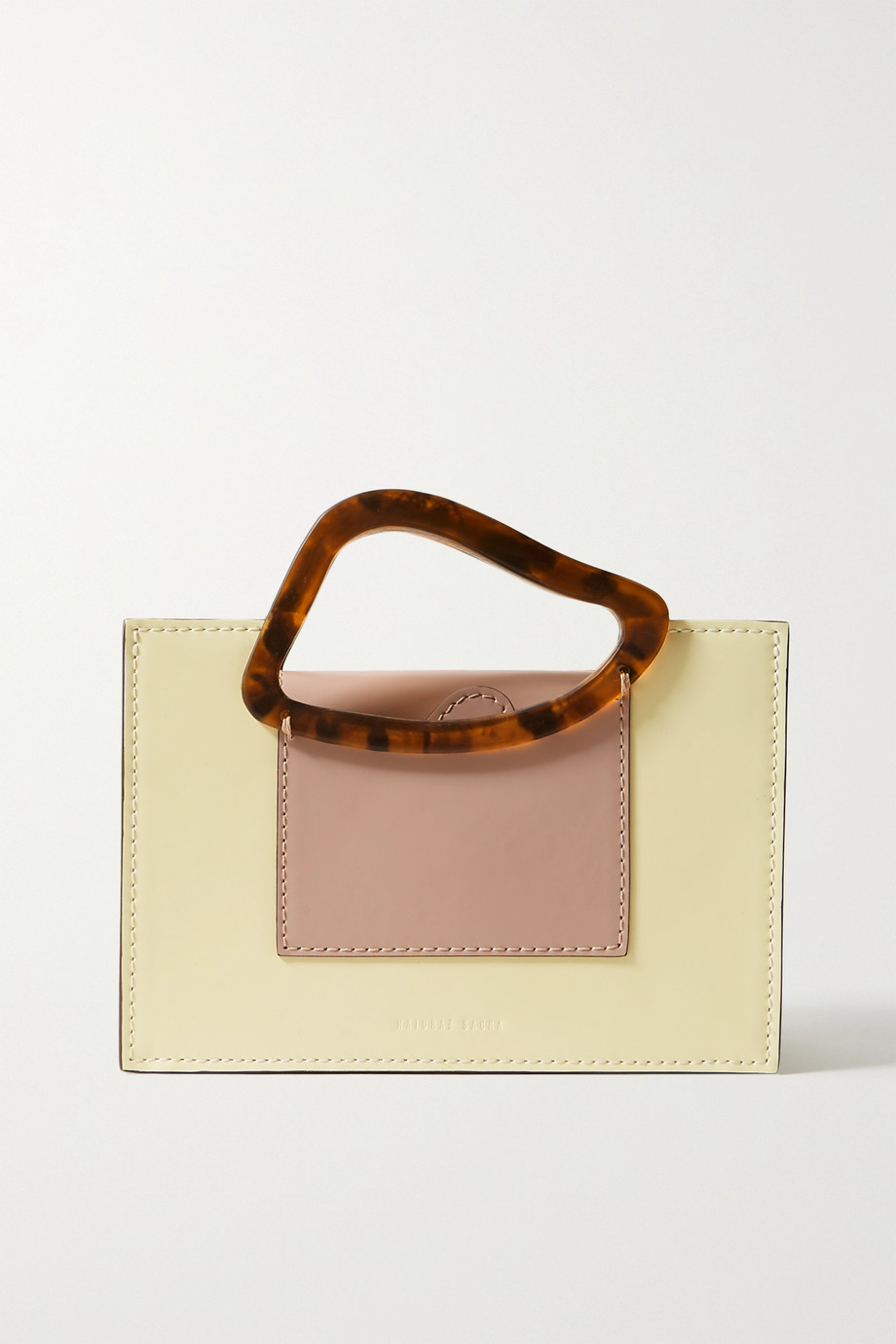 Naturae Sacra Arp mini two-tone leather and resin tote