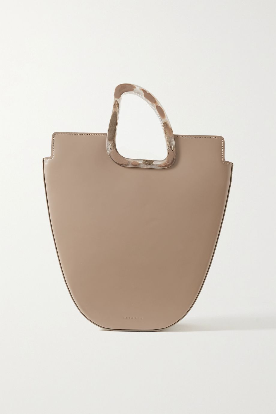 Naturae Sacra Ourea leather and resin tote