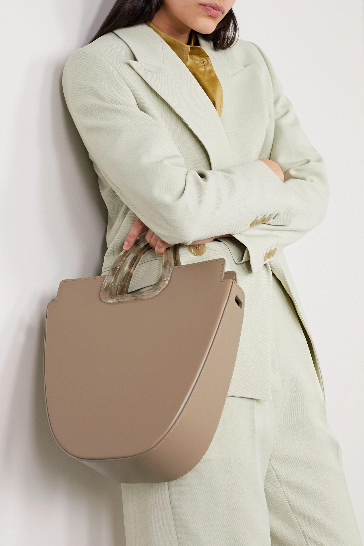 Naturae Sacra Ourea leather and resin tote