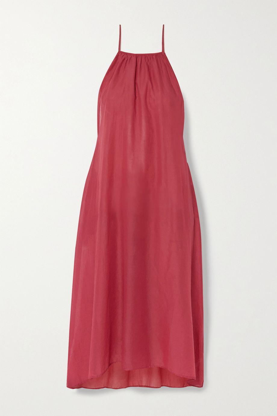 Skin Bridget cotton-voile midi dress