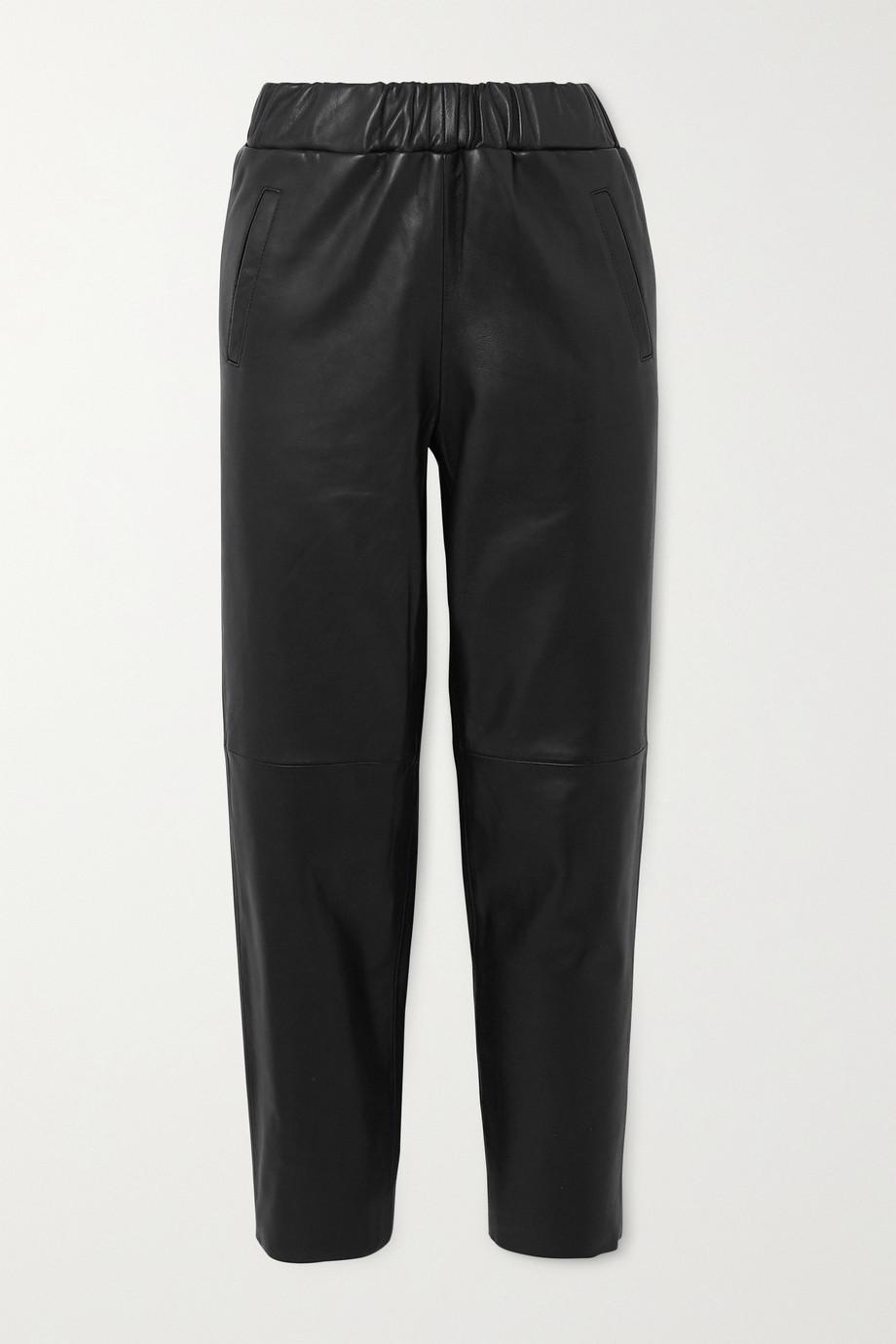 Stand Studio Noni leather track pants