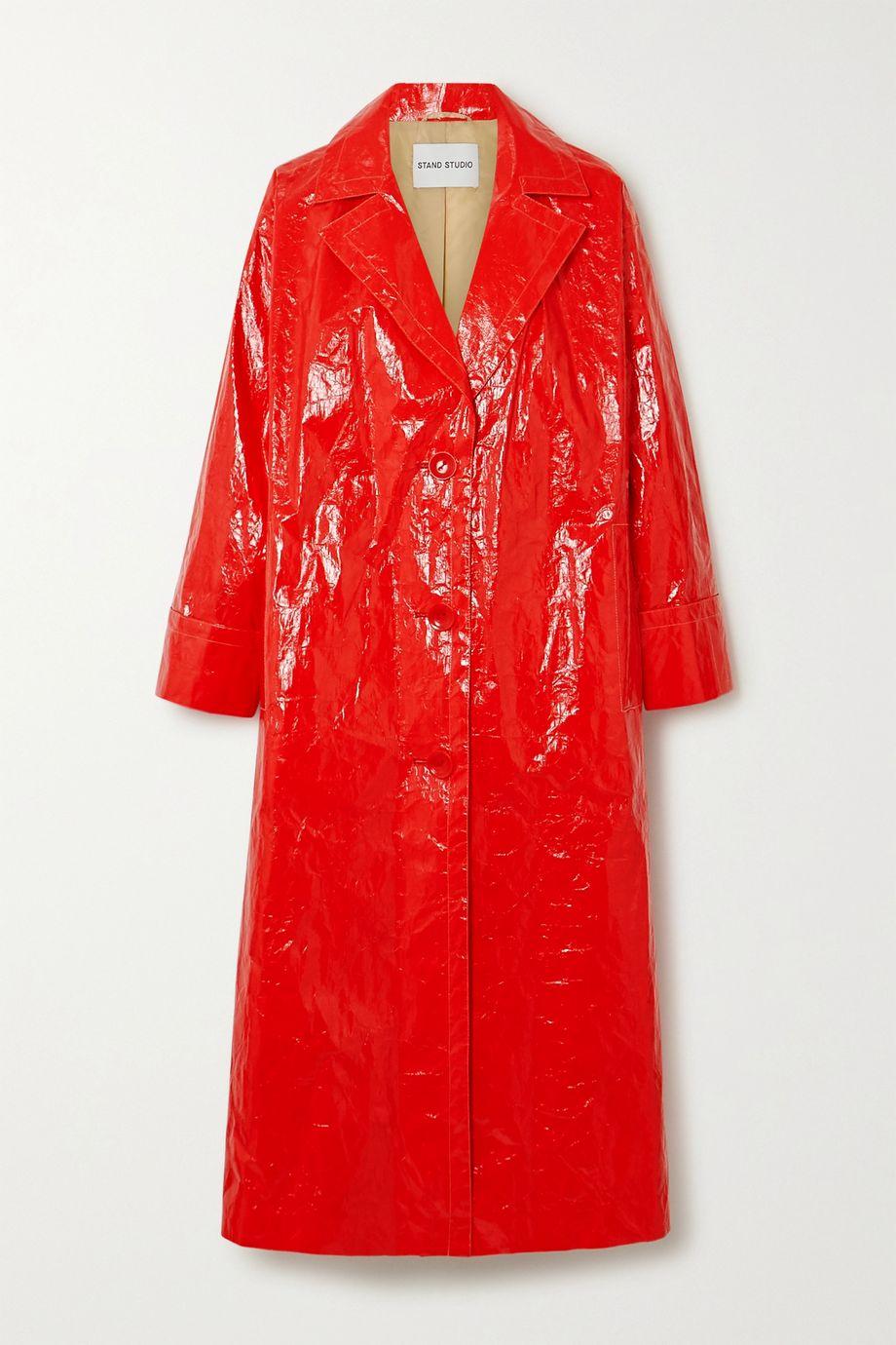 Stand Studio Lexie vinyl coat