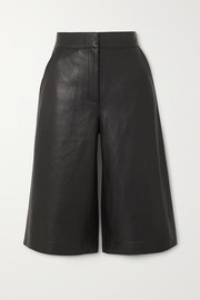 Stand Studio Megan leather shorts