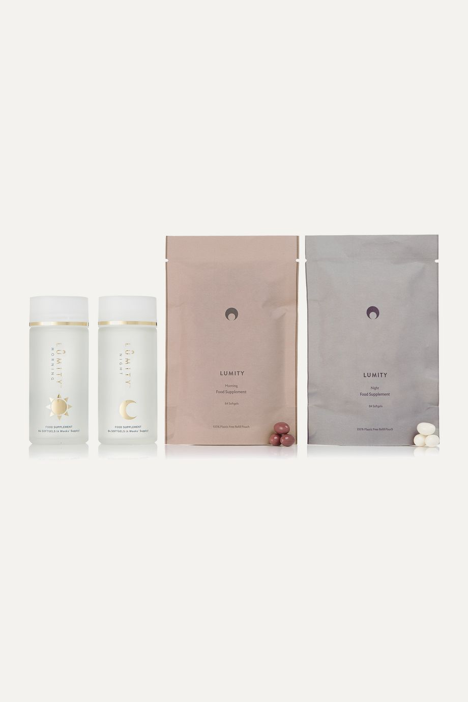 Lumity Morning and Night Supplements, Three Month Kit