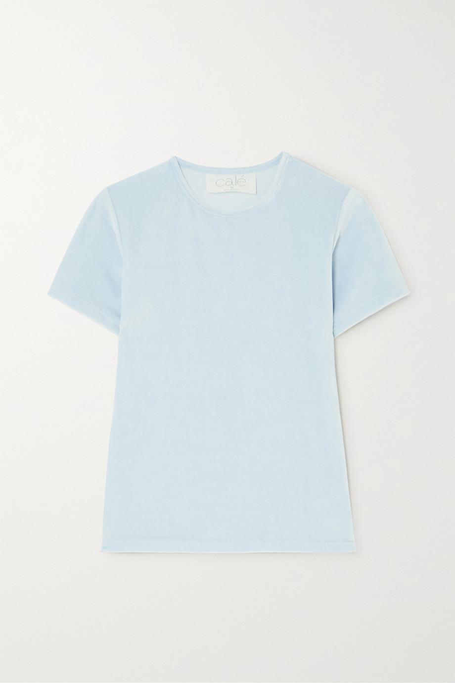 calé Nina velour t-shirt