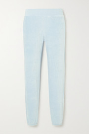 calé Sonia stretch-velour track pants