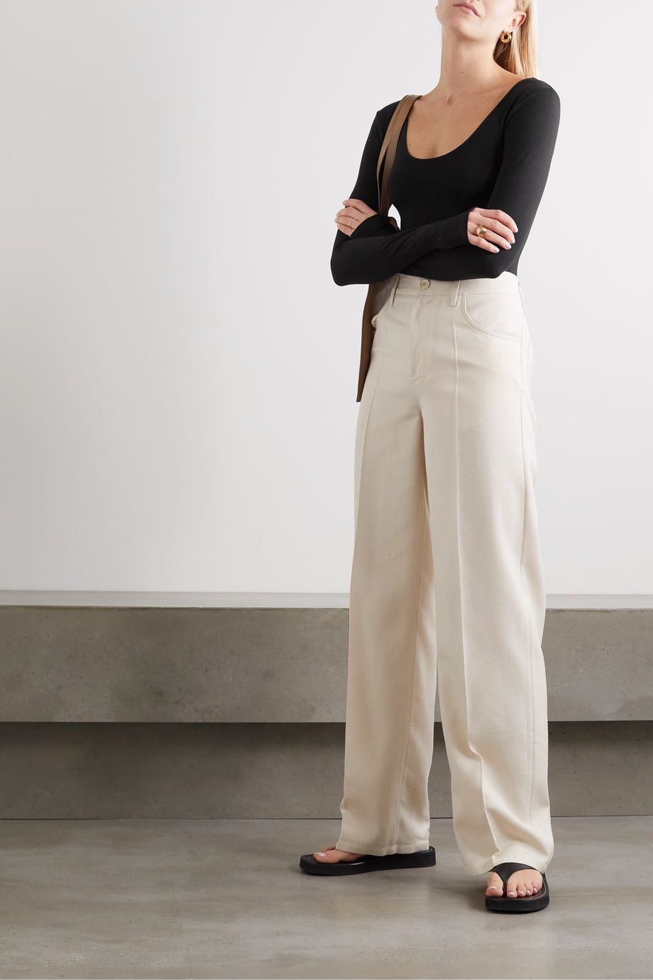 calé Lena stretch-jersey bodysuit