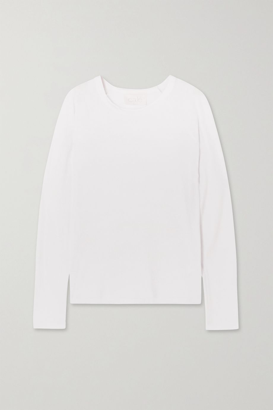 calé Aimee Supima cotton-jersey top