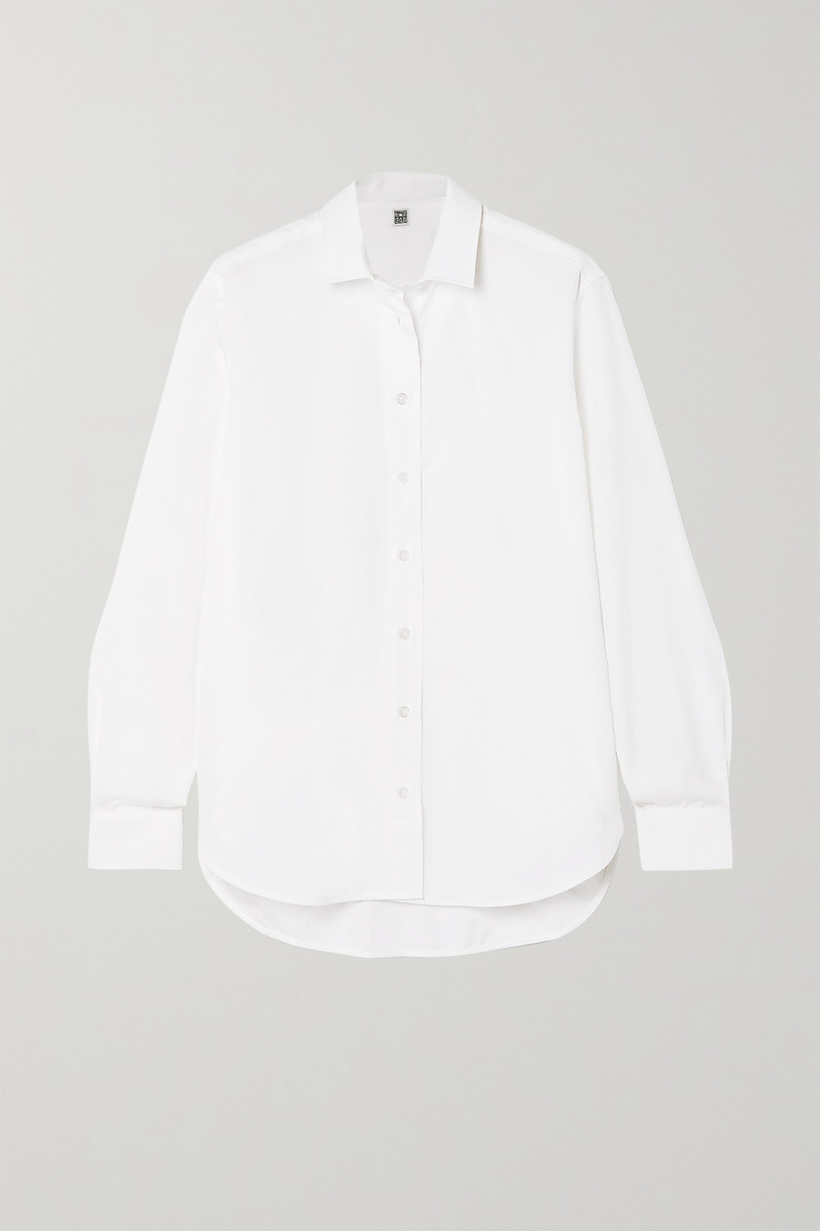 Totême Capri cotton-poplin shirt