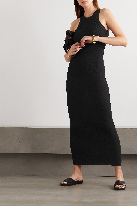 Totême Espera ribbed-knit maxi dress